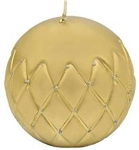 Kup Świeca dekoracyjna, kula, złota 12 cm - Artman Florence