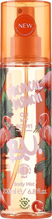 B.U. Tropical Passion - Zestaw (mist 200 ml + b/lot 50 ml) — фото N2
