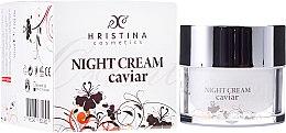 Kup Wzmacniający krem do twarzy z kawiorem na noc - Hristina Cosmetics Orient Caviar Night Cream