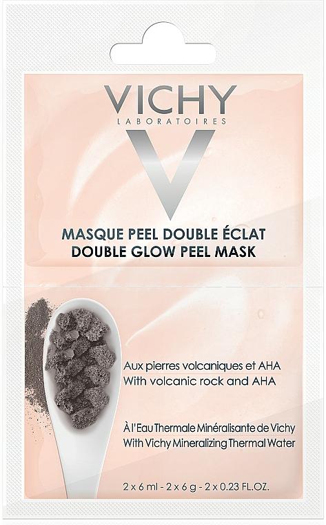 Peelingująca maska rozświetlająca - Vichy Double Glow Peel Face Mask Review