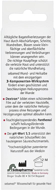 Maść wspomagająca gojenie się ran - Sebamed Wund- und Heilsalbe — фото N6