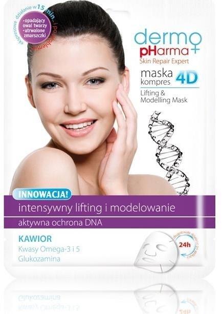 Maska kompres 4D Lifting i modelowanie - Dermo Pharma — фото N1