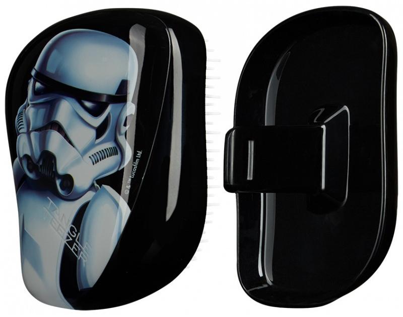 Kompaktowa szczotka do włosów - Tangle Teezer Compact Styler Star Wars Storm Trooper Brush