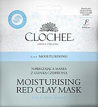 Kup Nawilżająca maska z glinką czerwoną - Clochee Moisturising Red Clay Mask