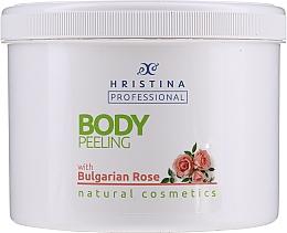 Kup Peeling do ciała z różą bułgarską - Hristina Professional Bulgarian Rose Body Peeling