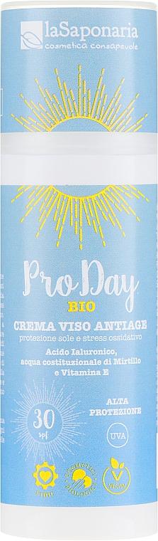 Przeciwstarzeniowy krem do twarzy na dzień SPF 30 - La Saponaria Pro Day Anti-Aging Day Cream — фото N1
