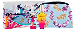 Kup Escada Miami Blossom - Zestaw (edt 50 ml + b/lot 50 ml + bag)