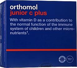 Kup Witaminy dla dzieci Junior C Plus, leśne jagody - Orthomol Immun
