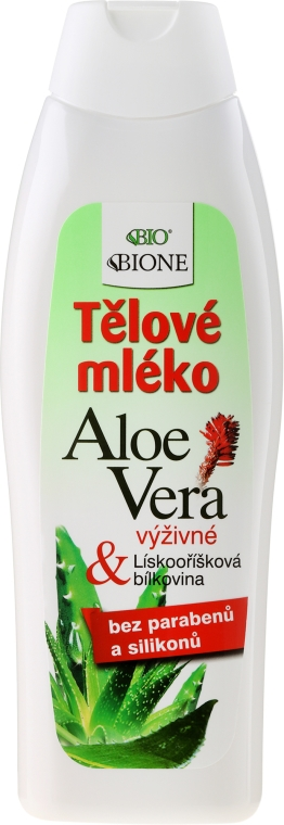 Nawilżające mleczko do ciała z aloesem i kolagenem - Bione Cosmetics Aloe Vera Nourishing Body Lotion With Collagen
