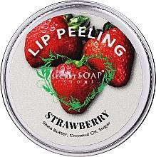 Kup Peeling do ust Truskawka - The Secret Soap Store Lip Scrub