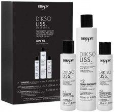 Kup Zestaw - Dikson DiksoLiss Lissactive Mini Kit (shm 100 ml + hair/cr 250 ml + cond 100 ml)