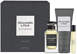 Kup Abercrombie & Fitch Authentic Men - Zestaw (edt 100 ml + edt 15 ml + sh/gel 200 ml)
