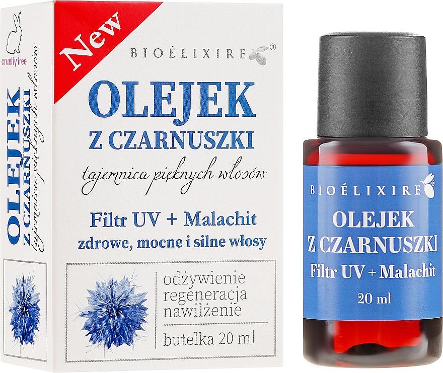 Olej z czarnuszki do włosów - Bioelixire Black Seed Oil