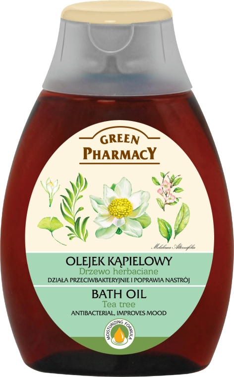 Olejek do kąpieli Drzewo herbaciane - Green Pharmacy Tea Tree Bath Oil