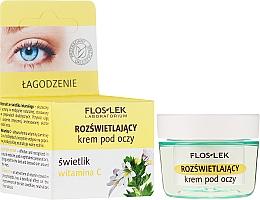 Kup Rozjaśniający krem pod oczy Świetlik i witamina C - Floslek