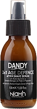 Serum do twarzy po goleniu dla mężczyzn - Niamh Hairconcept Dandy 2 in 1 Age Defence Aftershave Serum — фото N2