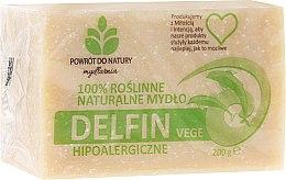 Kup 100% roślinne naturalne mydło hypoalergiczne Delfin Vege - Powrót do Natury