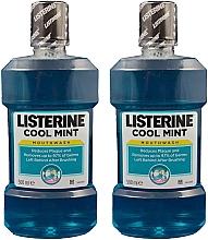 Kup Zestaw obcinaczy do paznokci - Listerine Cool Mint (mouth/wash/2x500ml)