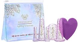 Kup Silikonowe bańki do masażu twarzy i ciała - Crystallove Crystalcup For Face & Body