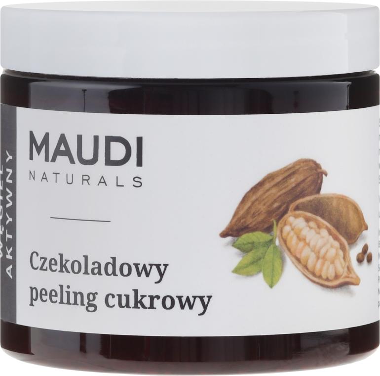 Czekoladowy peeling cukrowy - Maudi — фото N1