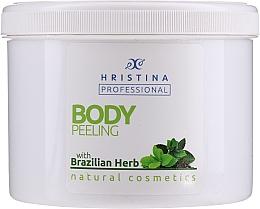 Kup Peeling do ciała z ziołami brazylijskimi - Hristina Professional Brazilian Herb Body Peeling