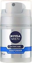 Krem przeciw starzeniu się skóry dla mężczyzn - Nivea Men Active Age Moisturiser — фото N2