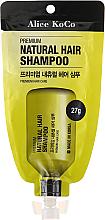 Kup PRZECENA! Naturalny szampon do włosów - Alice Koco Premium Natural Hair Shampoo *