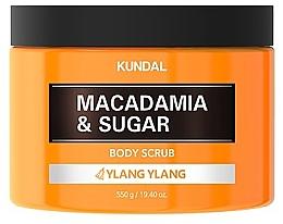 Kup Peeling do ciała Ylang ylang - Kundal Macadamia&Sugar Body Scrub Ylang Ylang
