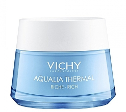 Zestaw - Vichy Aqualia Thermal For Dry Skin (cr/50ml + cr/15ml + bag) — фото N2