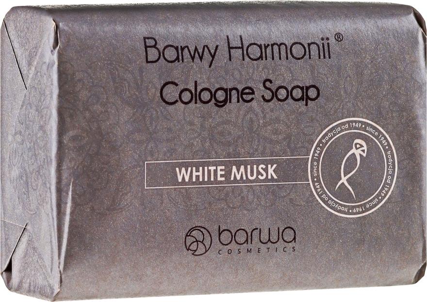 Mydło kolońskie piżmowe w kostce - Barwa Barwy Harmonii