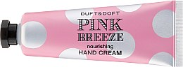 Kup Odżywczy krem do rąk Brzoskwinia i piwonia - Duft & Doft Pink Breeze Nourishing Hand Cream