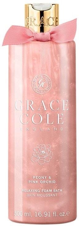 Płyn do kąpieli Piwonia i różowy storczyk - Grace Cole Peony & Pink Orchid Relaxing Bath Foam  — фото N1
