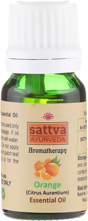 Olejek pomarańczowy - Sattva Ayurveda Aromatherapy Orange Essential Oil — фото N2