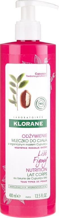Mleczko do ciała - Klorane Cupuacu Fig Leaf Nourishing Body Lotion — фото N3