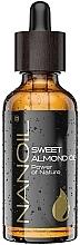 Kup Olej ze słodkich migdałów - Nanoil Body Face and Hair Sweet Almond Oil