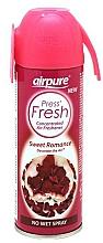 Kup Odświeżacz powietrza w sprayu Róża - Airpure Press Fresh Sweet Romance