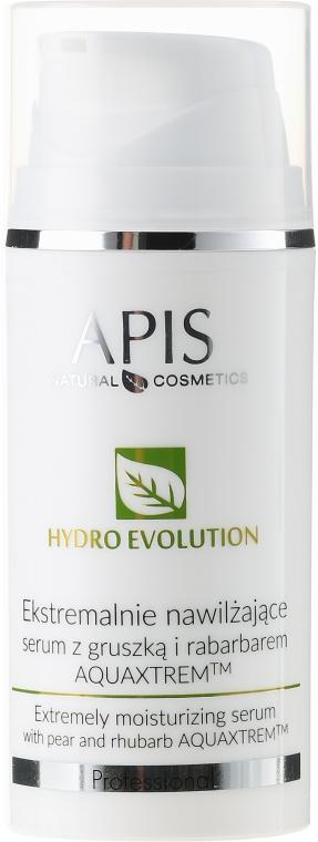 Ekstremalnie nawilżające serum z gruszką i rabarbarem - APIS Professional Hydro Evolution