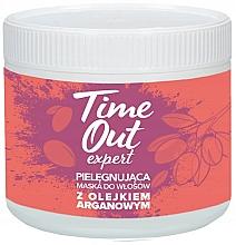 Kup Pielęgnująca maska do włosów z olejkiem arganowym - Time Out
