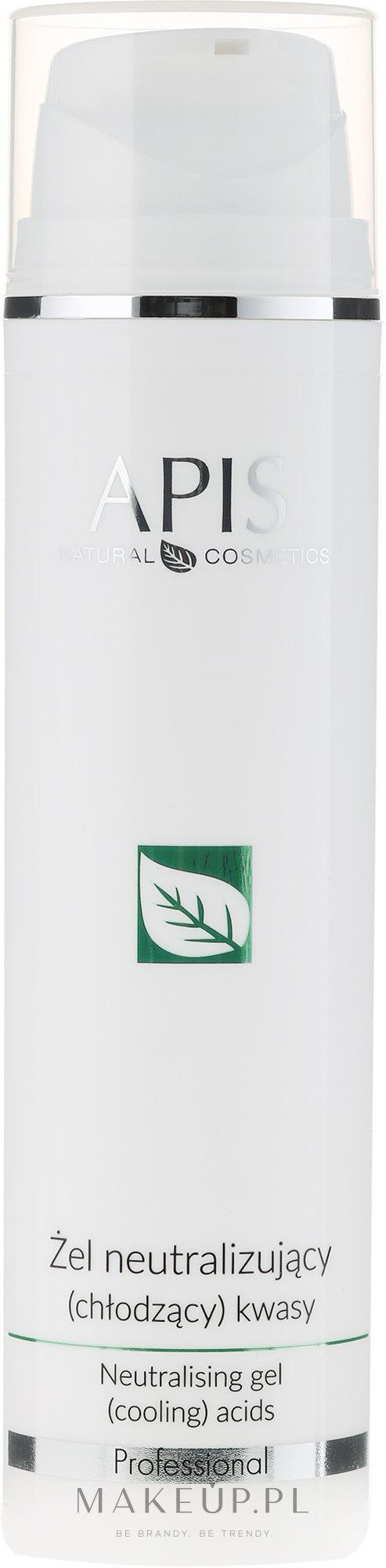 Chłodzący żel neutralizujący kwasy - APIS Professional Home TerApis  — фото 200 ml