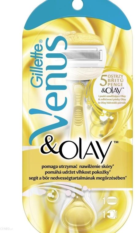 Maszynka dla kobiet + 1 wkład - Gillette Venus & Olay