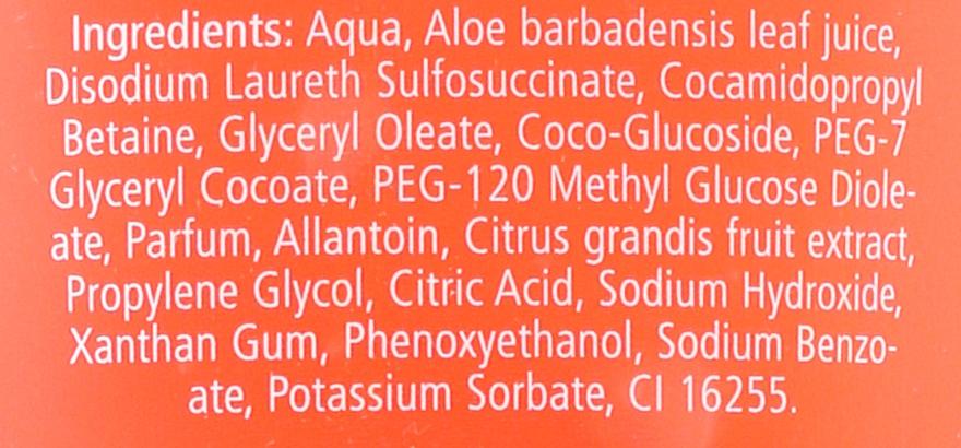 Odżywczo-orzeźwiający żel pod prysznic do skóry wrażliwej Grejpfrut - Sebamed Shower Gel With Grapefruit Nourishes And Refreshes — фото N5
