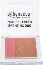 Kup Podwójny puder brązujący - Benecos Natural Fresh Bronzing Duo