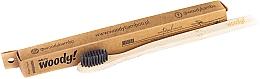 Kup Bambusowa szczoteczka do zębów, miękkie czarne włosie - WoodyBamboo Bamboo Toothbrush Natural