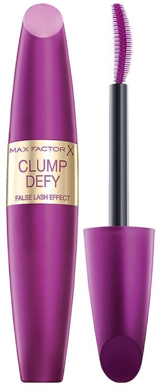 Pogrubiający tusz do rzęs - Max Factor Clump Defy False Lash Effect Mascara