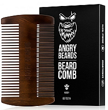 Kup Drewniany grzebień do brody - Angry Beards Beard Comb