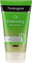 Kup Codzienny peeling do cery tłustej - Neutrogena Oil Balancing Daily Exfoliator