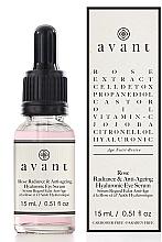 Kup PRZECENA! Rozświetlające hialuronowe serum przeciwzmarszczkowe pod oczy - Avant Rose Radiance & Anti-ageing Hyaluronic Eye Serum *