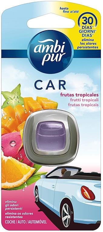 Zapach do samochodu Owoce tropikalne - Ambi Pur — фото N1