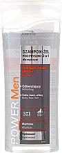 Kup Odświeżający szampon-żel pod prysznic 3 w 1 dla mężczyzn - Joanna Power Men