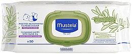 Kup Chusteczki nawilżane z oliwą dla dzieci - Mustela Cleansing Wipes With Olive Oil